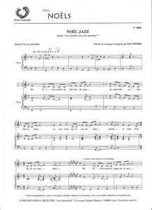 noel jazz voix mixte